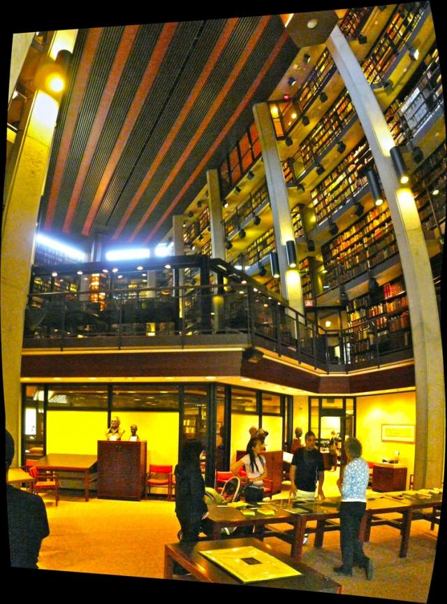 Thomas Fisher Rare Book Library at the U of T, by Mathers and Haldenby, image by
