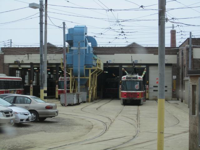 Roncesvalles carhouse, image by Adam Hawkins