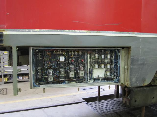 Seventies era electronics on a CLRV steetcar, image by Adam Hawkins