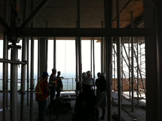 Four Seasons Toronto penthouse construction, what the suite looks like right now