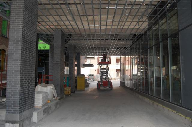 The Porte Cochere at Victory Condos, image courtesy of BLVD and Lifetime Develop
