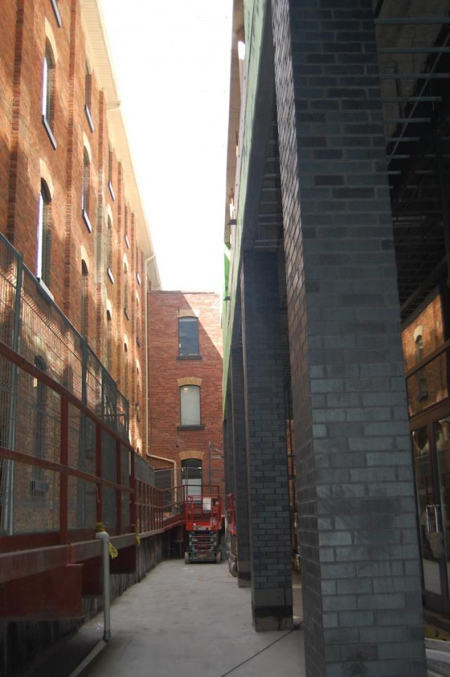 The Alleyway at Victory Condos, image courtesy of BLVD and Lifetime Developments