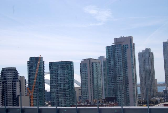Skyline View from the Penthouse at Victory Condos, image courtesy of BLVD and Li