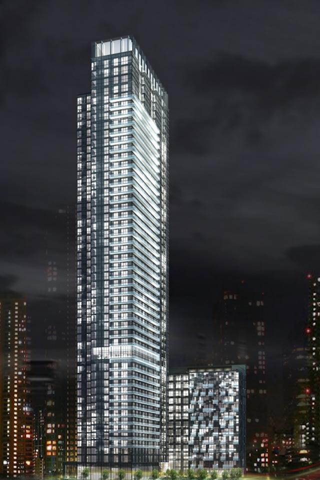 300 Front Street West from the southeast, image courtesy of Tridel