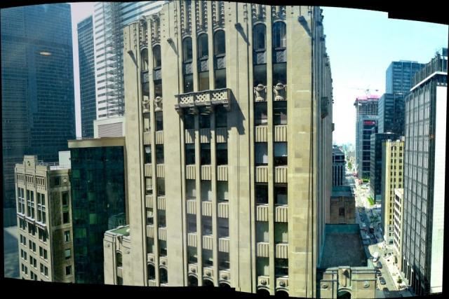 12th floor view of the Canada Permanent building from the Trump International Ho