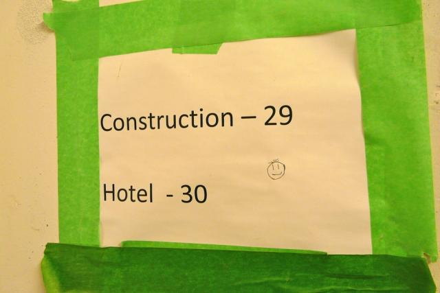 Floor numbering at the Trump International Hotel and Tower Toronto, image by Cra