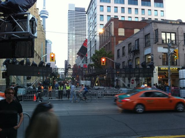 John at Queen closed for the MMVA's