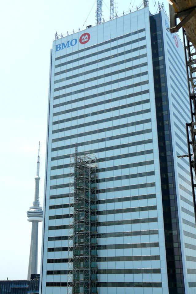 First Canadian Place from the 46th storey of the Trump International Hotel and T