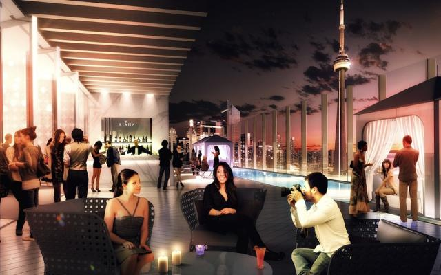 Bisha Hotel and Residences Toronto, image courtesy of Lifetime Developments and