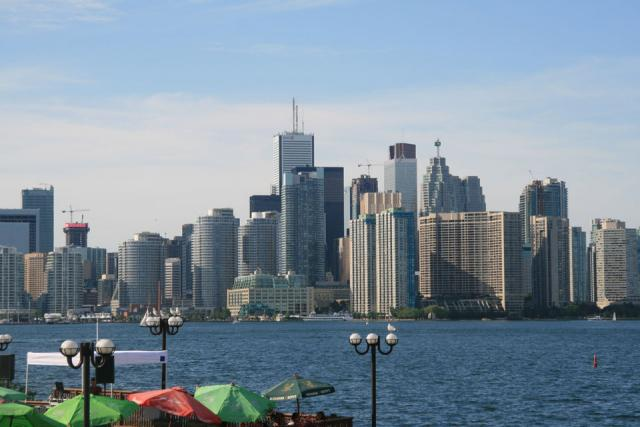 2011 Toronto Skyline From The Island Ferry