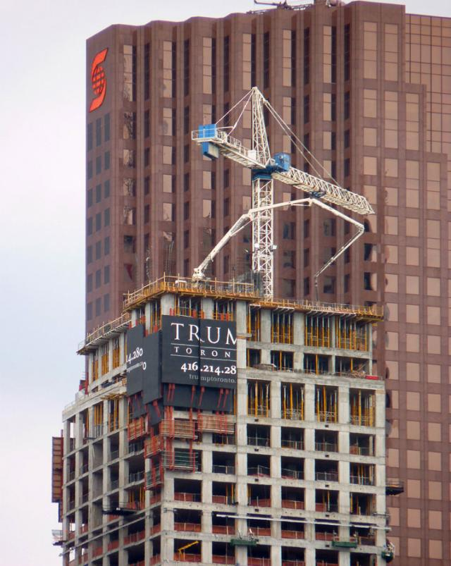 Trump International Hotel & Tower Toronto condos by Talon International