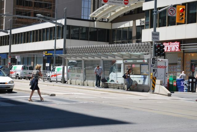 'Meadow' by Peter Bowyer, at Yonge. Image by Marcus Mitanis  2011.07.04