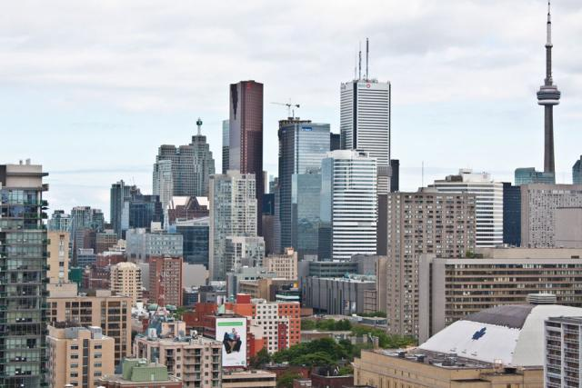 Downtown Toronto skyline 2011