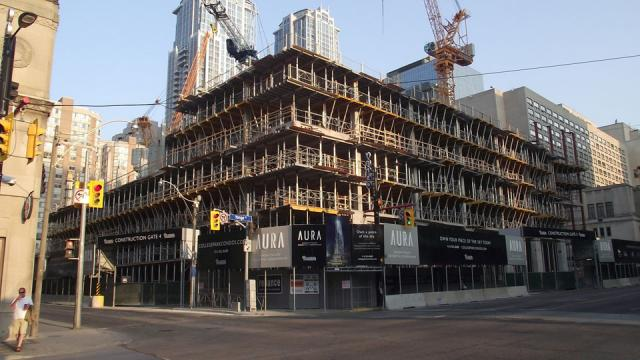 Aura at College Park Condo Toronto by Canderel Stoneridge