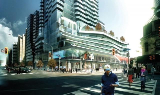 One Bloor East condos Toronto by Great Gulf Homes