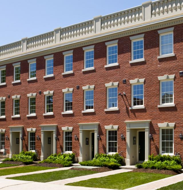 Dupont Terrace Brings Classic London Townhomes To Dupont
