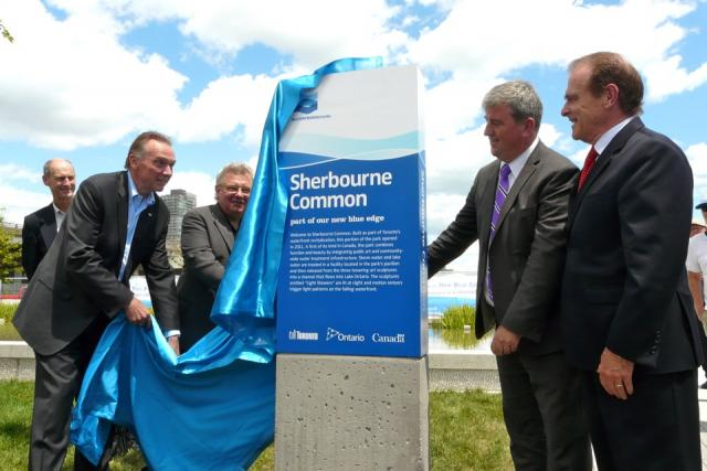 Sherbourne Common North officially opened by Waterfront Toronto