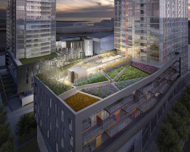 Spectra condos Toronto at CityPlace by Concord Adex