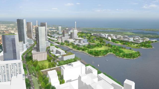 Lower Don Lands and Port Lands Plan by Waterfront Toronto