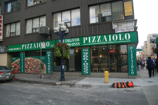 Pizzaiolo At 707 Yonge Street Toronto