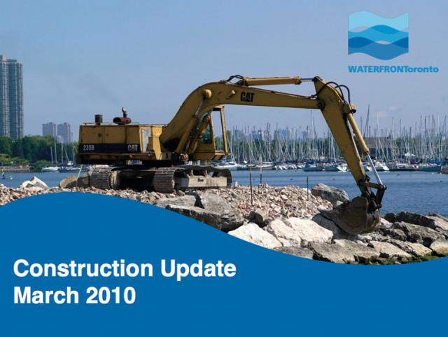 Update on Construction at Sugar Beach