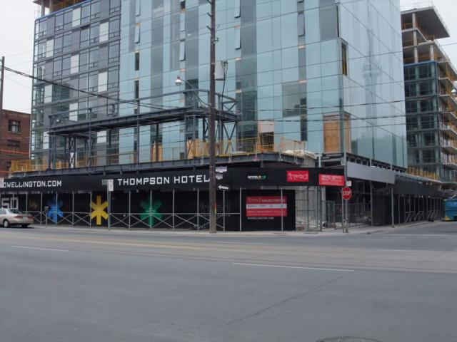 Thompson Hotel, Toronto, by Freed Developments, 550 Wellington Street West