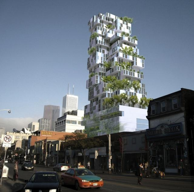 Former Toronto Gansevoort condo-hotel project from TAS Design Build