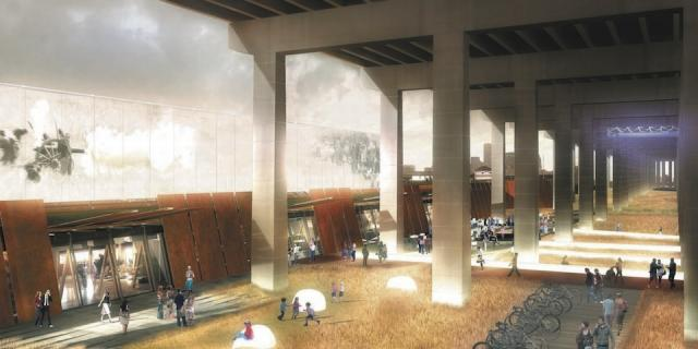 Fort York Visitor Centre Toronto by Patkau Architects