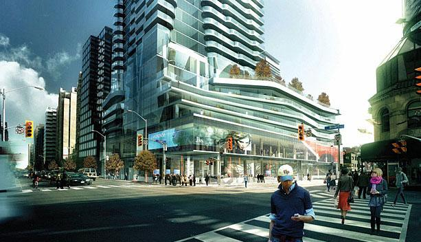 One Bloor East condos Toronto by Great Gulf Homes and Hariri Pontarini
