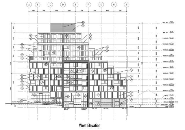 Development planned for 875 eglinton west urban toronto for 133 hazelton floor plans