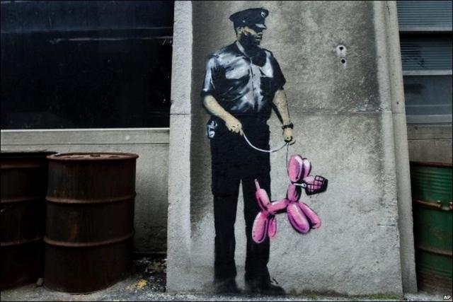 Banksy, 90 Harbour Street, Menkes, Toronto, Hospitals of Ontario Pension Plan