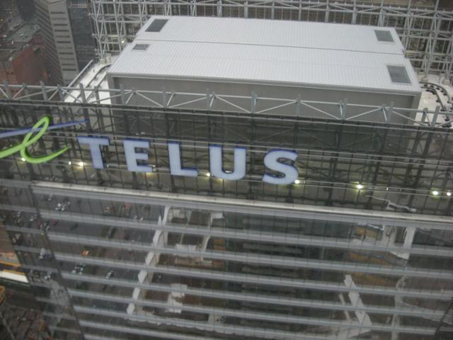 Maple Leaf Square, Toronto, Telus