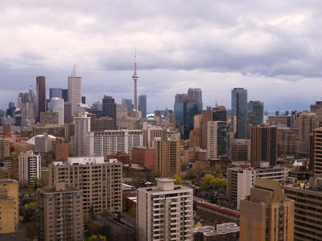 Original Photo of Toronto Downtown by Mike in TO