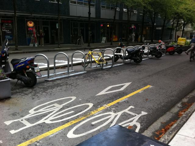 Bike parking Vancouver