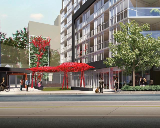 Piazza at Howard Park condos Toronto by Triumph