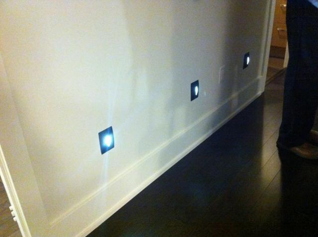 Baseboard lighting at Tridel's Reve Eco Suite condo Toronto