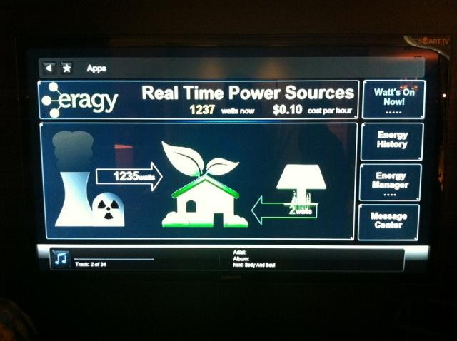 Power tracking application at Tridel's Reve Eco Suite condo Toronto