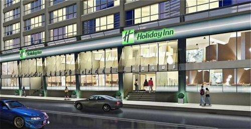 days inn carlton renovation to holiday inn urban toronto. Black Bedroom Furniture Sets. Home Design Ideas