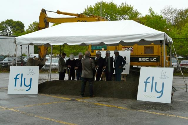 Fly Condominiums Groundbreaking Tent, Toronto, Empire Communities