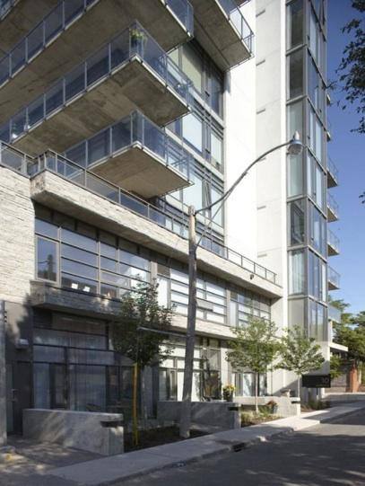 455 Adelaide West condominiums, Toronto, by Freed Developments