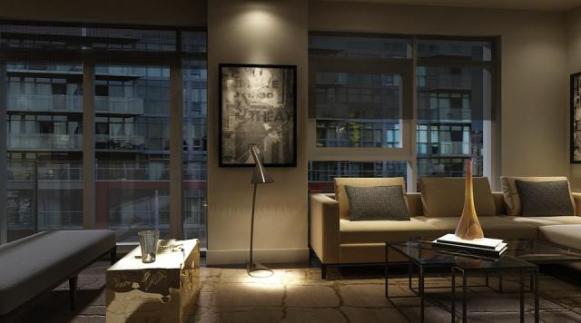 Warhol Collection Suite Interior at Aspen Ridge's Studio2 on Richmond Toronto
