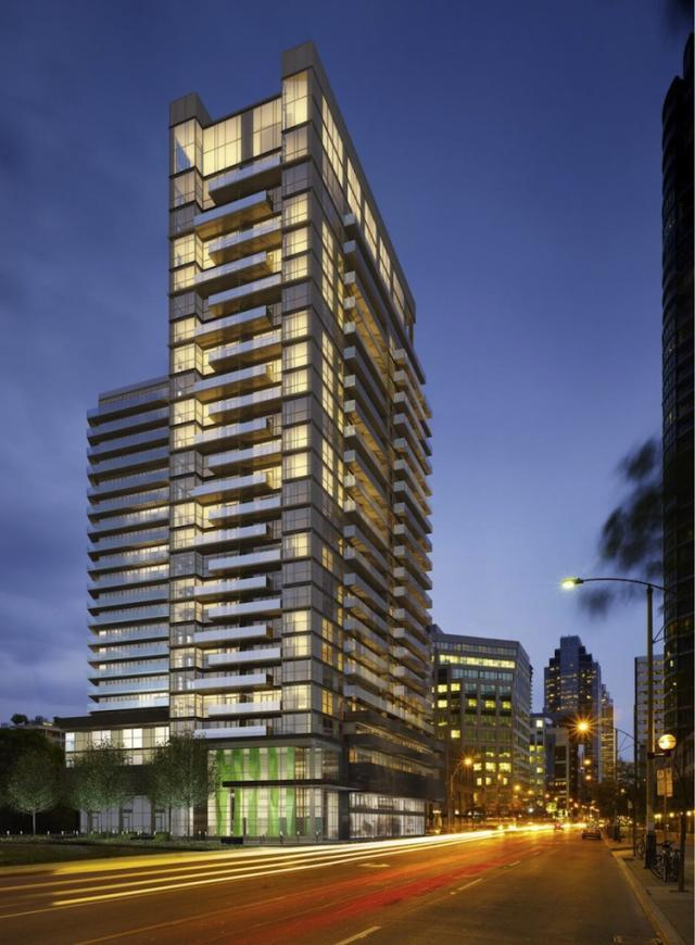 Fly Condos Toronto by Empire Communities and Graziani + Corazza Architects