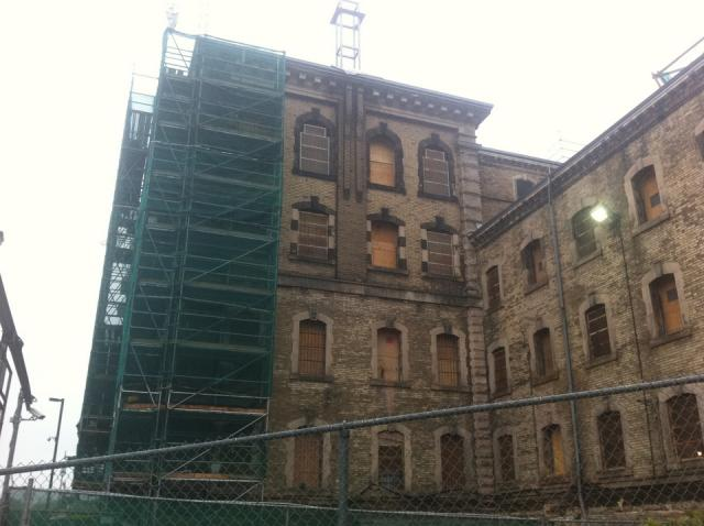 Old Don Jail restoration and conversion for Bridgepoint Hospital, Toronto