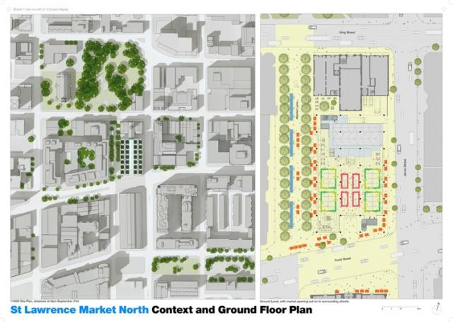 St. Lawrence Market North Toronto Site Plan