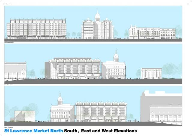 St. Lawrence Market North Toronto Elevations