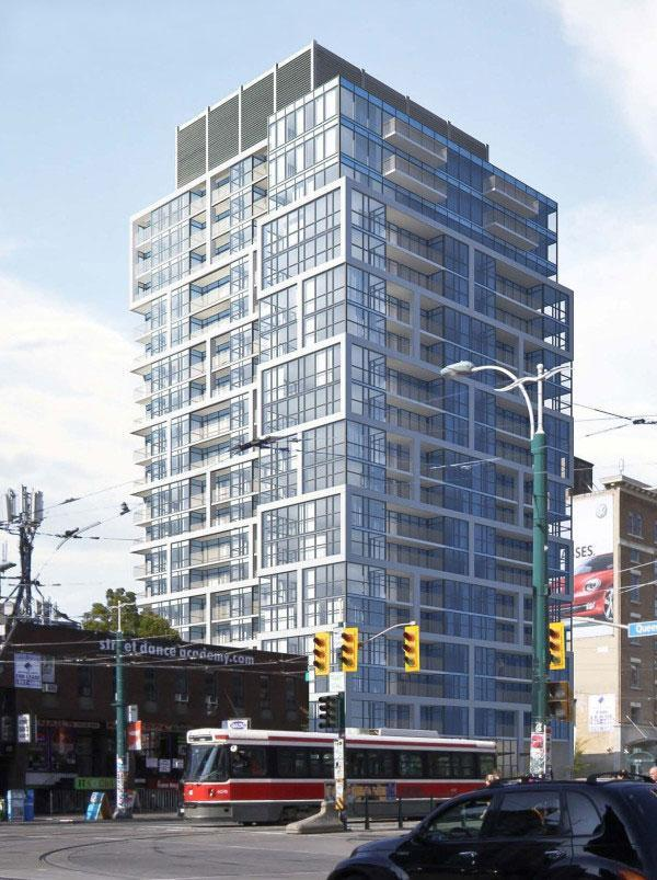 170 Spadina in Toronto by Tri-Win International and Wallman Architects