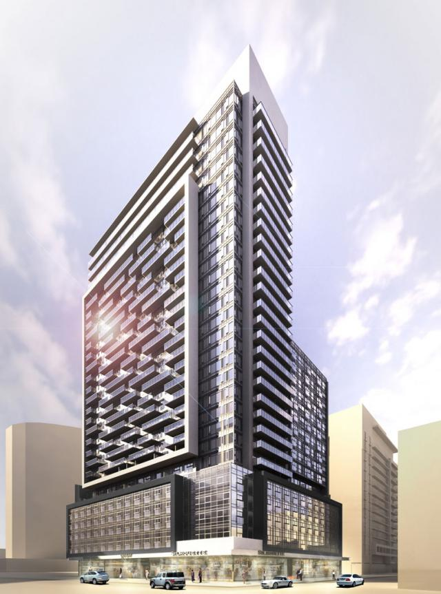 Motion On Bay Street Toronto by Concert Properties and Young+Wright Architects
