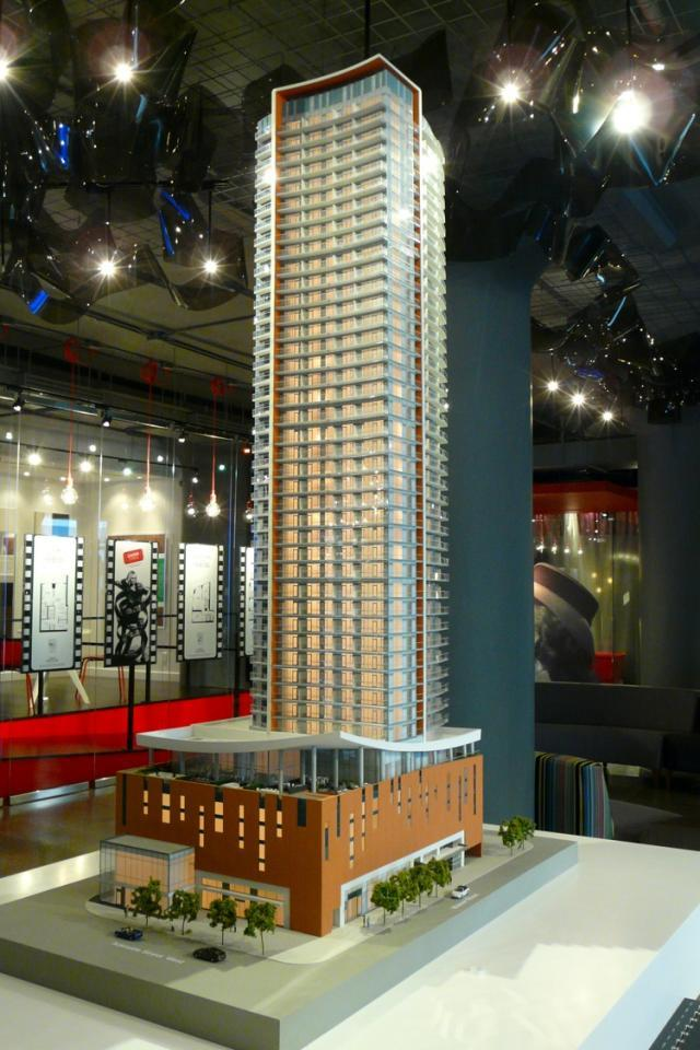 Cinema Tower condos by the Daniels Corporation in Toronto, and Kirkor architects