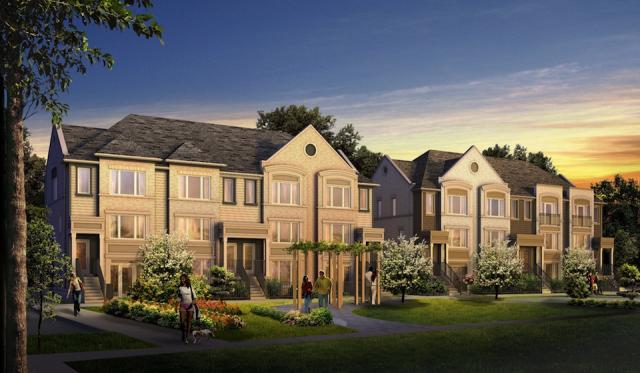 A Daniels First Home townhome development in Mississauga