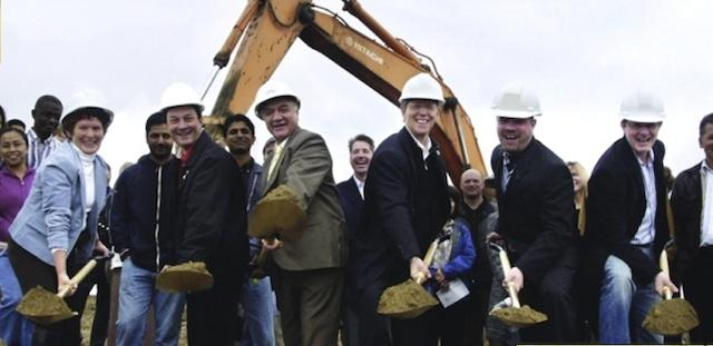 A Daniels Groundbreaking at Canada's first ENERGY STAR community in Mississauga,
